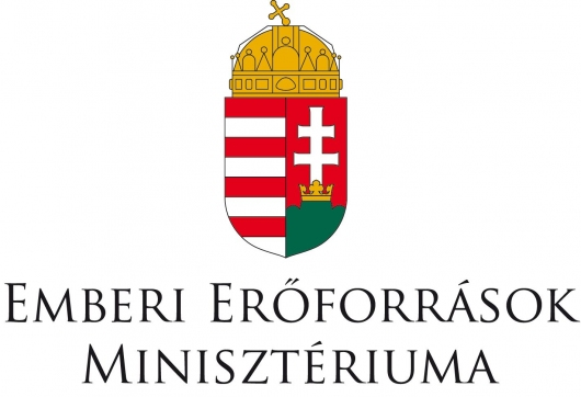 Logo of Hungarian Ministry of Human Capacities