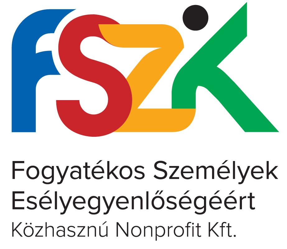 Logo of Equal Opportunities of Persons with Disabilities Non-profit Ltd. (FSZK)